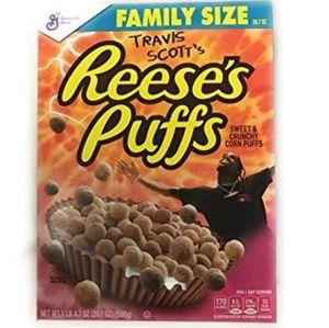 Travis Scott Cactus Jack Reese's Puff Creal